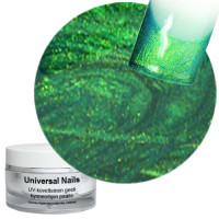 Universal Nails Smaragdi UV metalligeeli 10 g