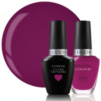 Cuccio Veneer Eye Candy In Miami Match Makers geelilakkasetti 2 x 13 mL