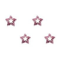 Sina Kynsikoru pinkki tähti 4 kpl