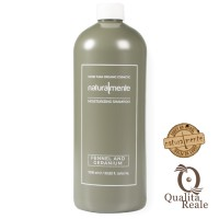 Naturalmente Fennel & Geranium Moisturizing kosteuttava shampoo 1000 mL
