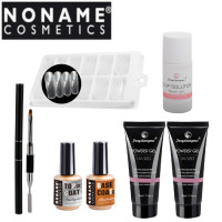 Noname Cosmetics Fengshangmei Powder Polygel Aloituspaketti Mini