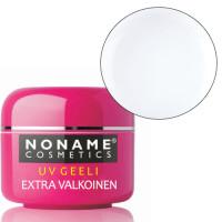 Noname Cosmetics Paksu Extra Valkoinen UV-geeli 30 g