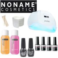 Noname Cosmetics Geelilakka-aloituspaketti Promed UVL-54 UV & LED-uunilla