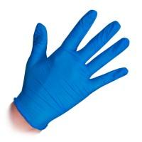 Noname Cosmetics Nitrile Examination Gloves Blue Nitriilikäsineet M 100 kpl