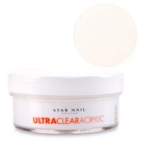 Star Nail Luonnollinen Ultra Clear akryylipuuteri 45 g
