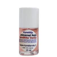 Universal Nails Persikka Vanilja Tuoksuva Kynsinauhaöljy pensselillä 15 mL