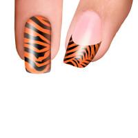 Trendy Nail Wraps Eye of the Tiger Kynsikalvo kärkikalvo