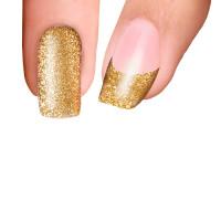 Trendy Nail Wraps Golden Sand Kynsikalvo koko kynsi