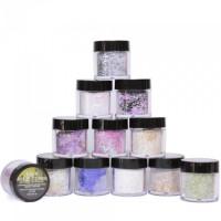 Noname Cosmetics Glitter akryylipuuteri lajitelma 12 x 7 g