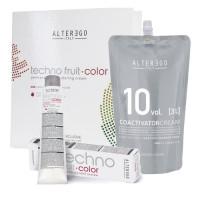 Alter Ego Italy Techno Fruit Color hiusväri aloituspaketti XL