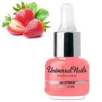 Silcare Mansikka Garden of Colour Kynsinauhaöljy pipetillä 15 mL