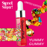 Silcare Yummy Gummy Garden of Colour Kynsinauhaöljy pipetillä 15 mL