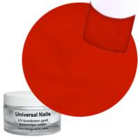 Universal Nails Puhdas Punainen UV värigeeli 10 g