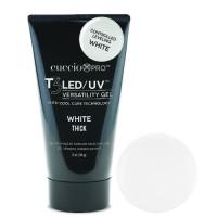 Cuccio White T3 LED/UV Controlled Leveling Tube Cool Cure geeli tuubissa 56 g