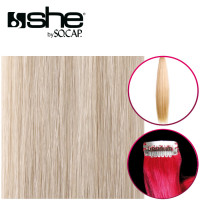 So Cap Straight OneClip Extension color 60 40-45 cm