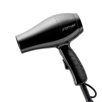 Comair Germany Black Travel 2Go mini hair dryer