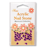 Sina Acrylic Nail Stones Acry-109 36 kpl