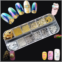 Noname Cosmetics Metal decorations gold-silver