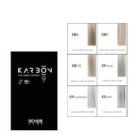 Echosline Karbon 9 Charcoal Color chart
