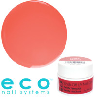 Eco Nail Systems Coral Beach Eco Soak Off gel 7 g