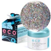 Eco Nail Systems Vegas Glitter Eco Soak Off gel 28 g