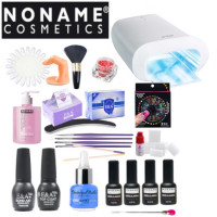 Noname Cosmetics 3-Step Soak Off Gel Starter Kit with Promed UVL-36 S UV-lamp