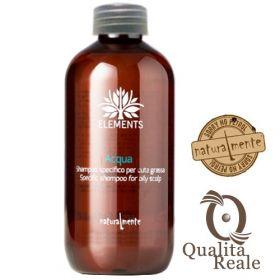 Naturalmente Elements Acqua shampoo rasvoittuvalle hiuspohjalle 1000 mL