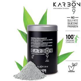 Echosline Karbon 9 Charcoal Extra Bleach 9T vaalennusjauhe 500 g
