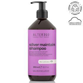 Alter Ego Italy Silver Maintain No-Yellow shampoo 950 mL