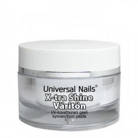 Universal Nails Kirkas X-tra Shine UV/LED päällysgeeli 10 g