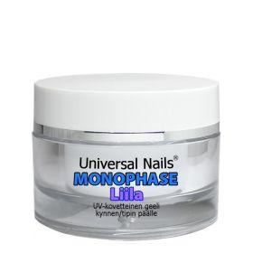 Universal Nails Liila Monophase UV/LED geeli 10 g
