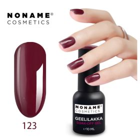 Noname Cosmetics #123 3-vaihe geelilakka 10 mL