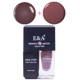 E&A 15 Perfect Match geelilakkasetti 2 x 4 mL