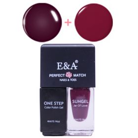 E&A 18 Perfect Match geelilakkasetti 2 x 4 mL
