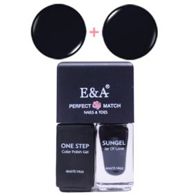 E&A 24 Perfect Match geelilakkasetti 2 x 4 mL