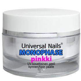 Universal Nails Pinkki Monophase UV/LED geeli 30 g