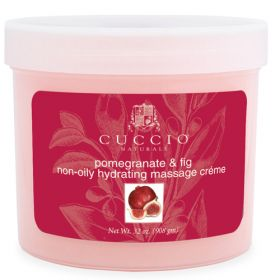 Cuccio Naturalé Massage Cream Pomegranate & Fig hierontavoide 750 g