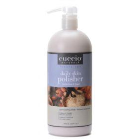 Cuccio Naturalé Daily Skin Polisher Vanilla Bean & Sugar hellävarainen kuorinta 946 mL