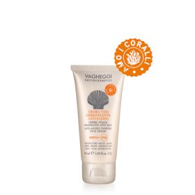 Vagheggi Anti-Ageing Tanning Face Cream SPF50+ aurinkovoide kasvoille 50 mL