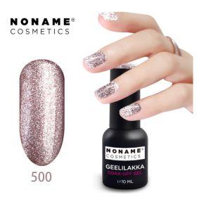 Noname Cosmetics #500 3-vaihe geelilakka 10 mL