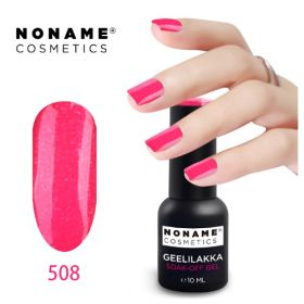 Noname Cosmetics #508 3-vaihe geelilakka 10 mL