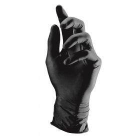 Semperguard Style Mustat Nitriilikäsineet M 100 kpl