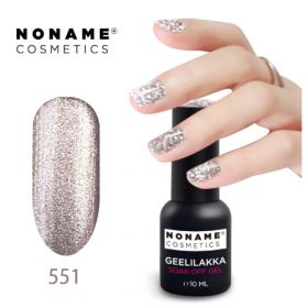 Noname Cosmetics #551 3-vaihe geelilakka 10 mL
