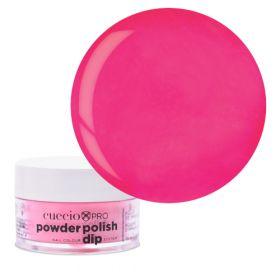 Cuccio Bright Neon Pink Dip Powder Polish dippipuuteri 14 g