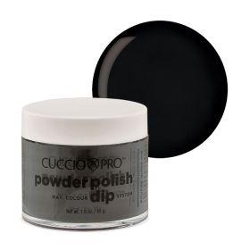 Cuccio Midnight Black 2in1 Dip Powder Polish dippi- & akryylipuuteri 45 g