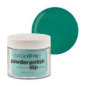 Cuccio Jade Green 2in1 Dip Powder Polish dippi- & akryylipuuteri 45 g