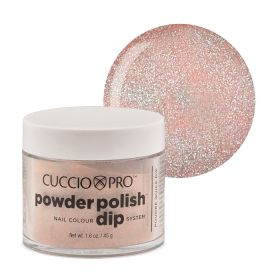 Cuccio Light Pink Glitter Dip Powder Polish dippipuuteri 45 g