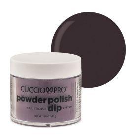 Cuccio Plum Black 2in1 Dip Powder Polish dippi- & akryylipuuteri 45 g