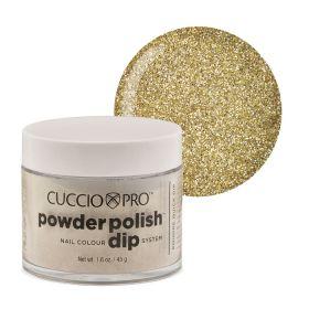 Cuccio Rich Gold Glitter Dip Powder Polish dippipuuteri 45 g
