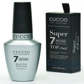 Cuccio 7 Second Top Coat päällyslakka 13 mL